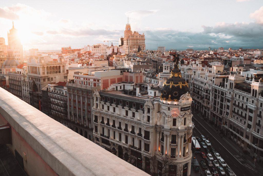 Фото центра Мадрида