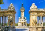 Парк Ретиро - памятник Альфонсо XII