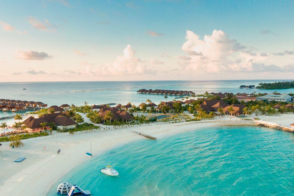 Фото отеля на острове на Мальдивах