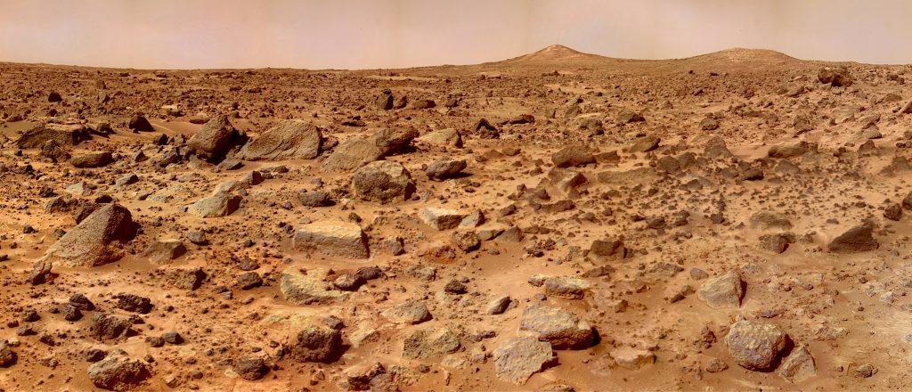 Планета Марс - поверхность Марса, марсоход
