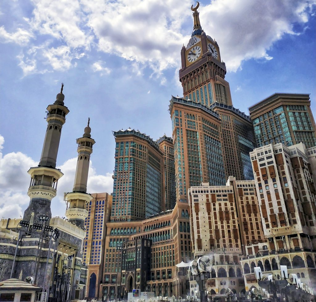Небоскреб Королевская часовая башня, город Мекка, Саудовская Аравия