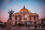 Дворец изящных искусств в Мехико фото