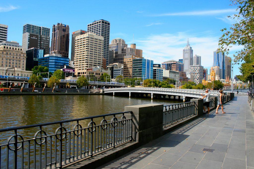В центре Мельбурна фото