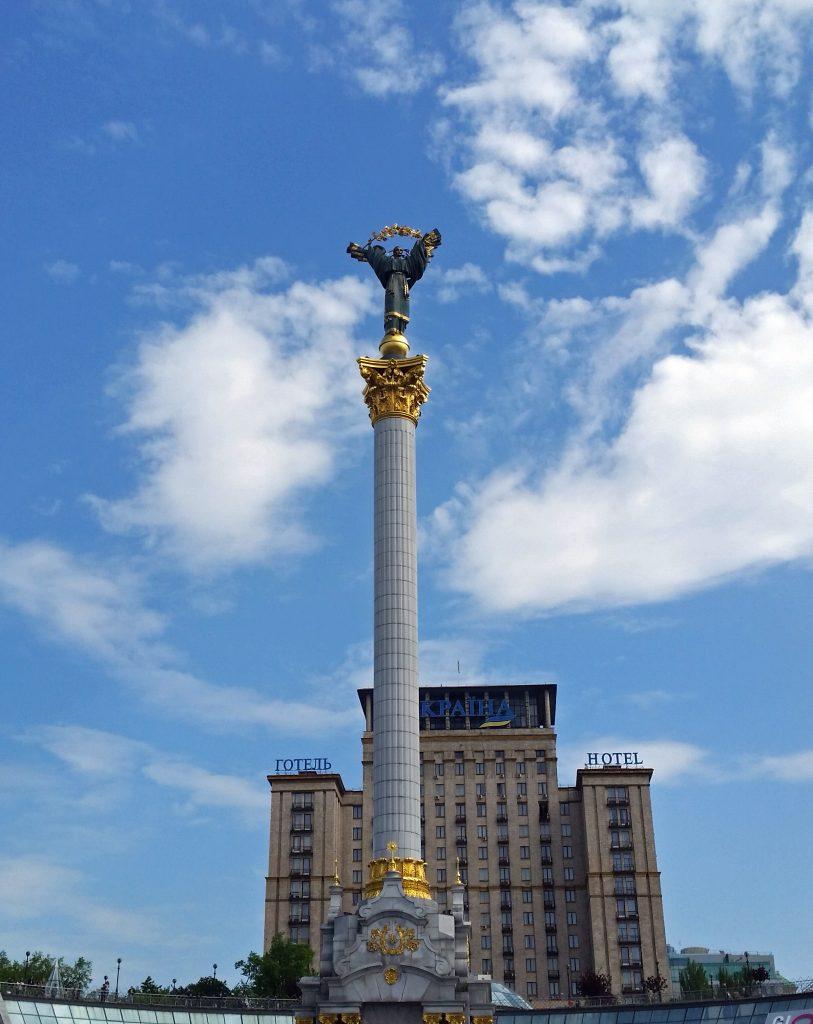 Монумент Независимости в Киеве фото