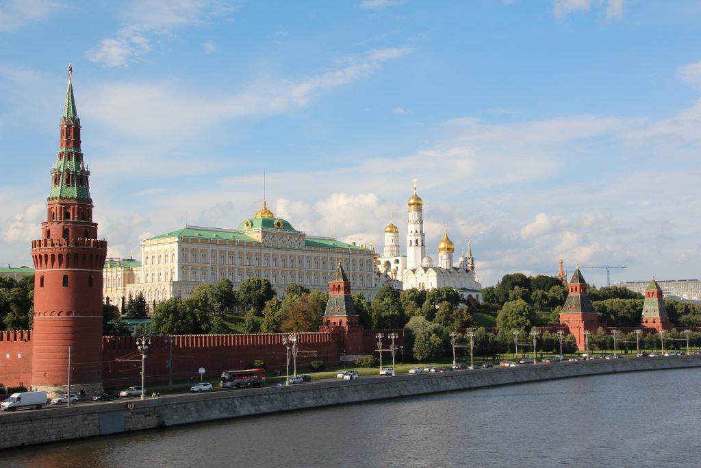 Московский Кремль стоковое фото