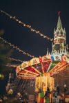 Новогодняя ярмарка на Красной площади фото