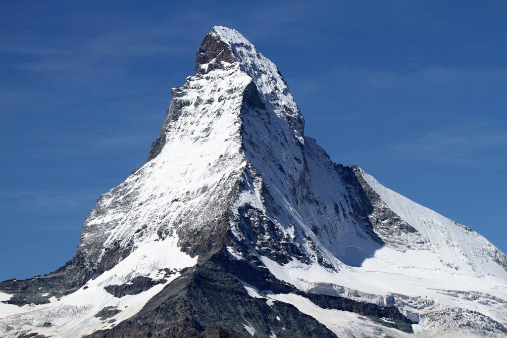 Гора Маттерхорн фото