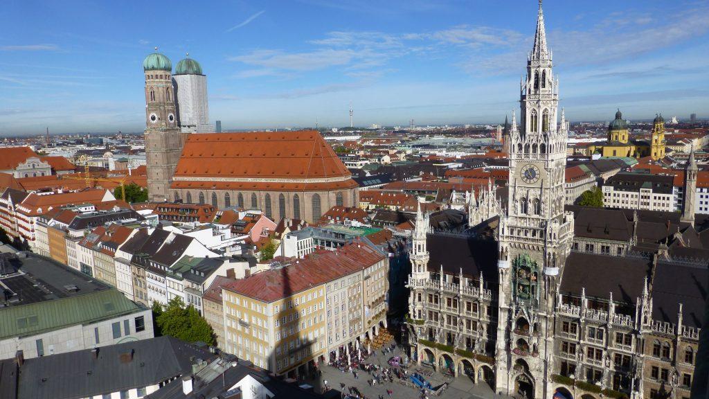 Мюнхен исторический центр города