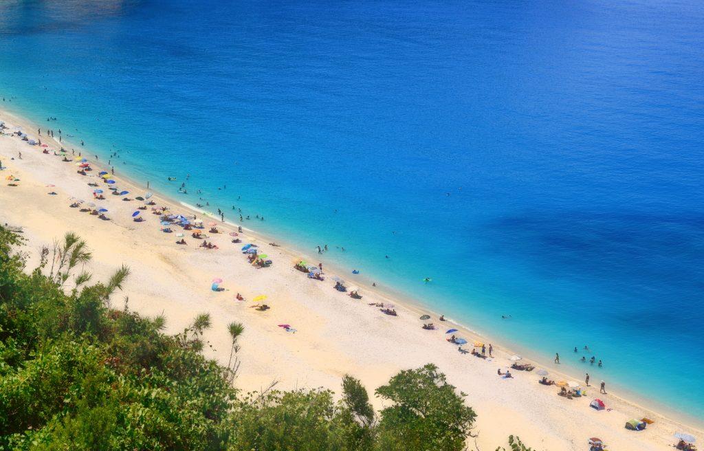 Остров Кефалиния пляж Миртос фото