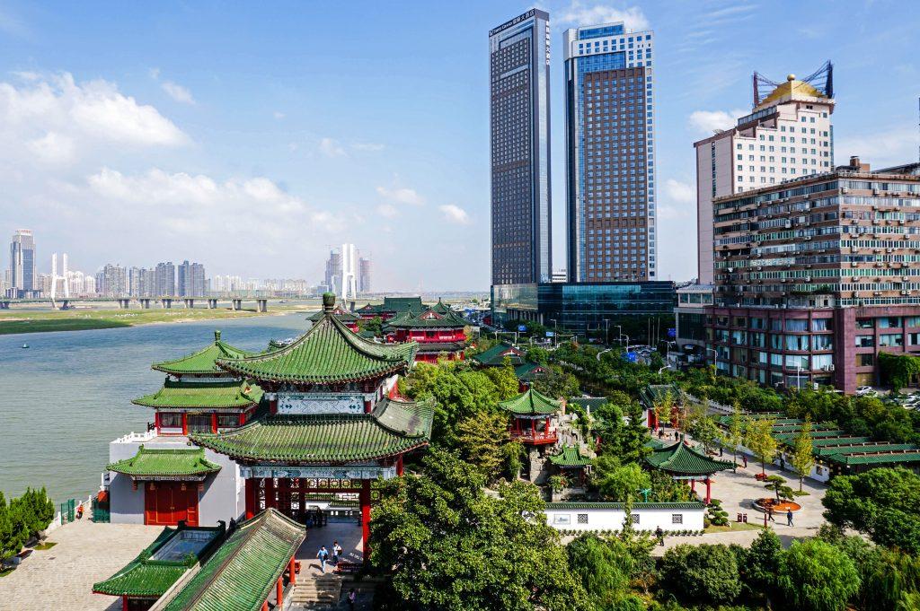 Город Наньчан в Китае
