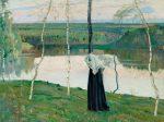 Михаил Нестеров - картина Священное озеро
