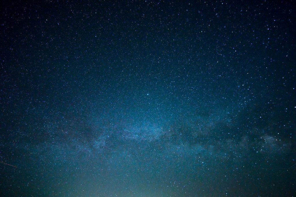 Ночное звездное небо фото обои
