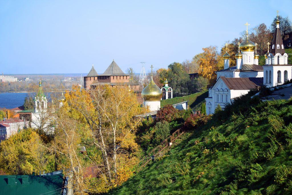 Нижний Новгород - храмы и Кремль