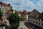 Нюрнбергская крепость и центр города