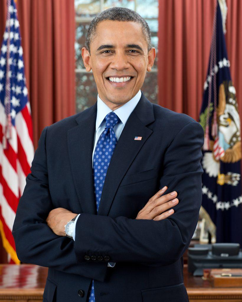 Барак Обама официальный портрет