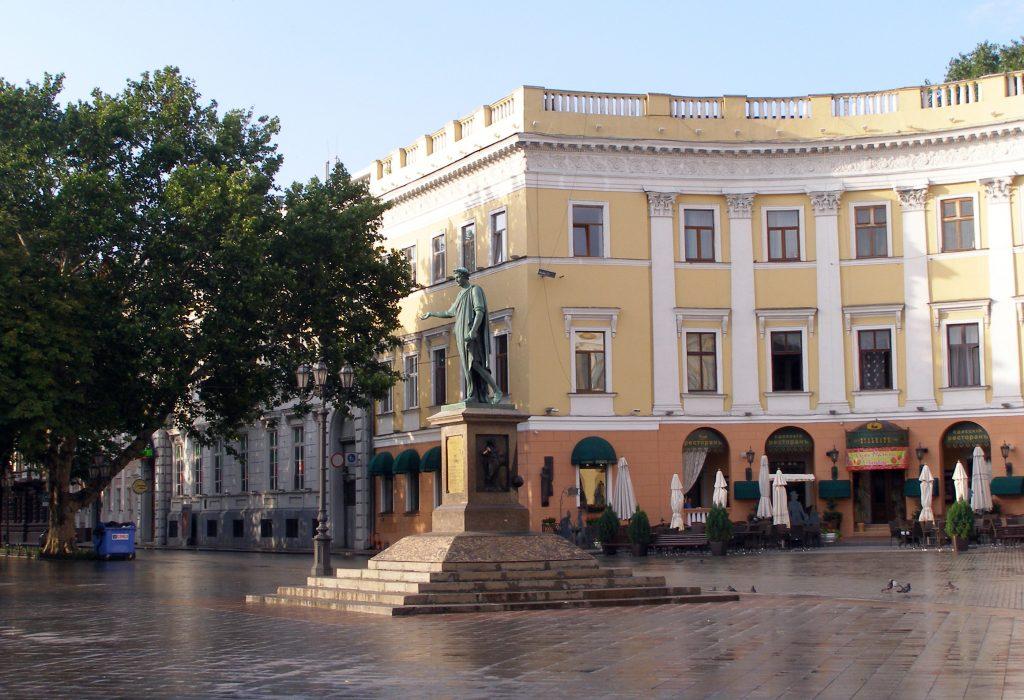 Памятник дюку де Ришельё, город Одесса