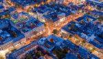 Фото панорама центра Одессы с воздуха