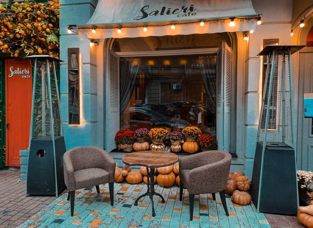 Фото Одессы кафе Сальери