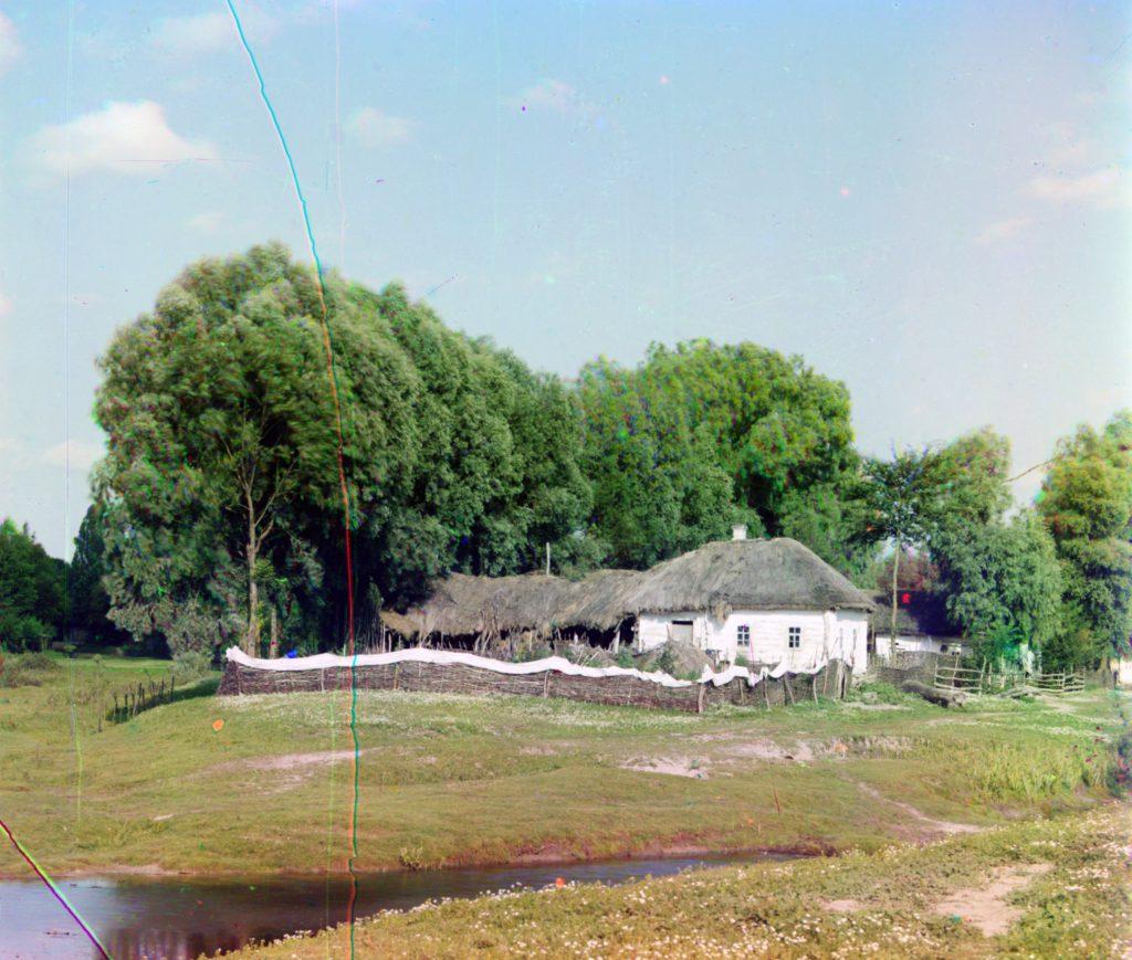 Дом хата в Малороссии - фото Украины в начале 20 века