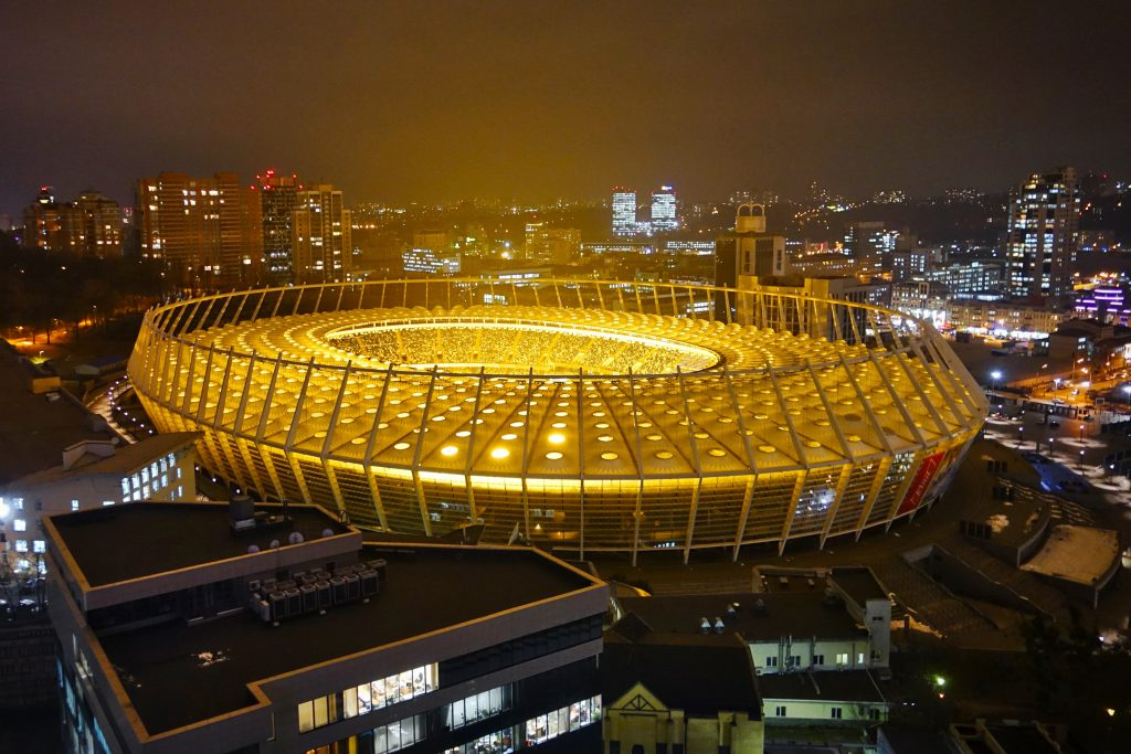 Фото Олимпийского стадиона в Киеве