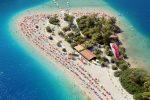Пляж Олюдениз (Oludeniz) и Голубая лагуна, курорт Фетхие, Турция