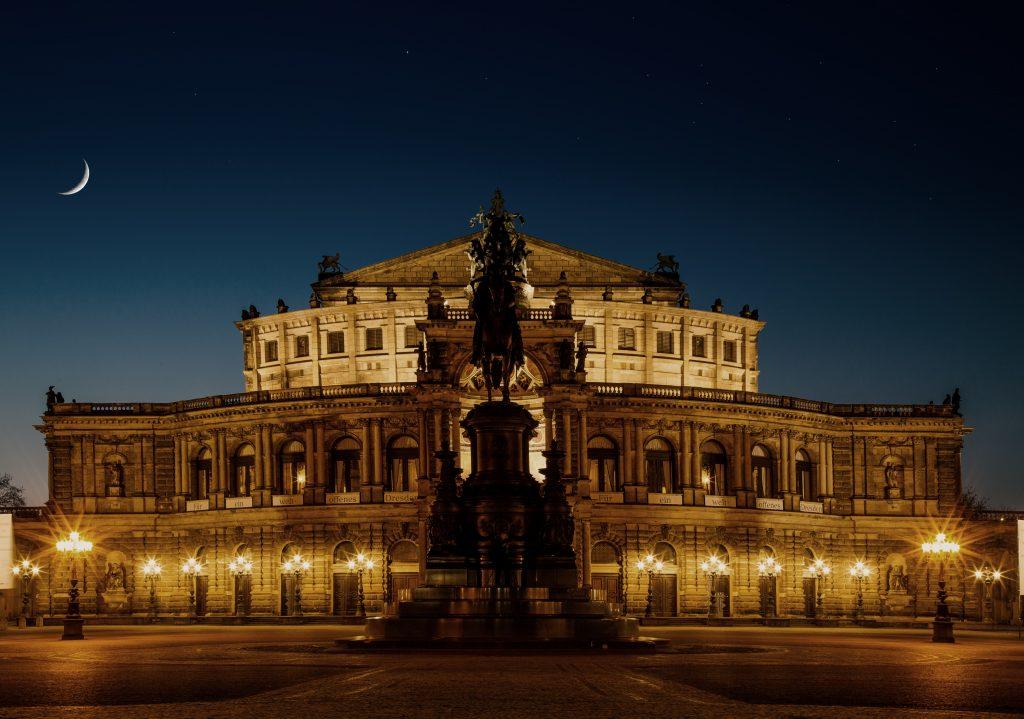 Дрезденская опера, Саксония