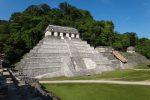 Развалины древнего города майя Паленке
