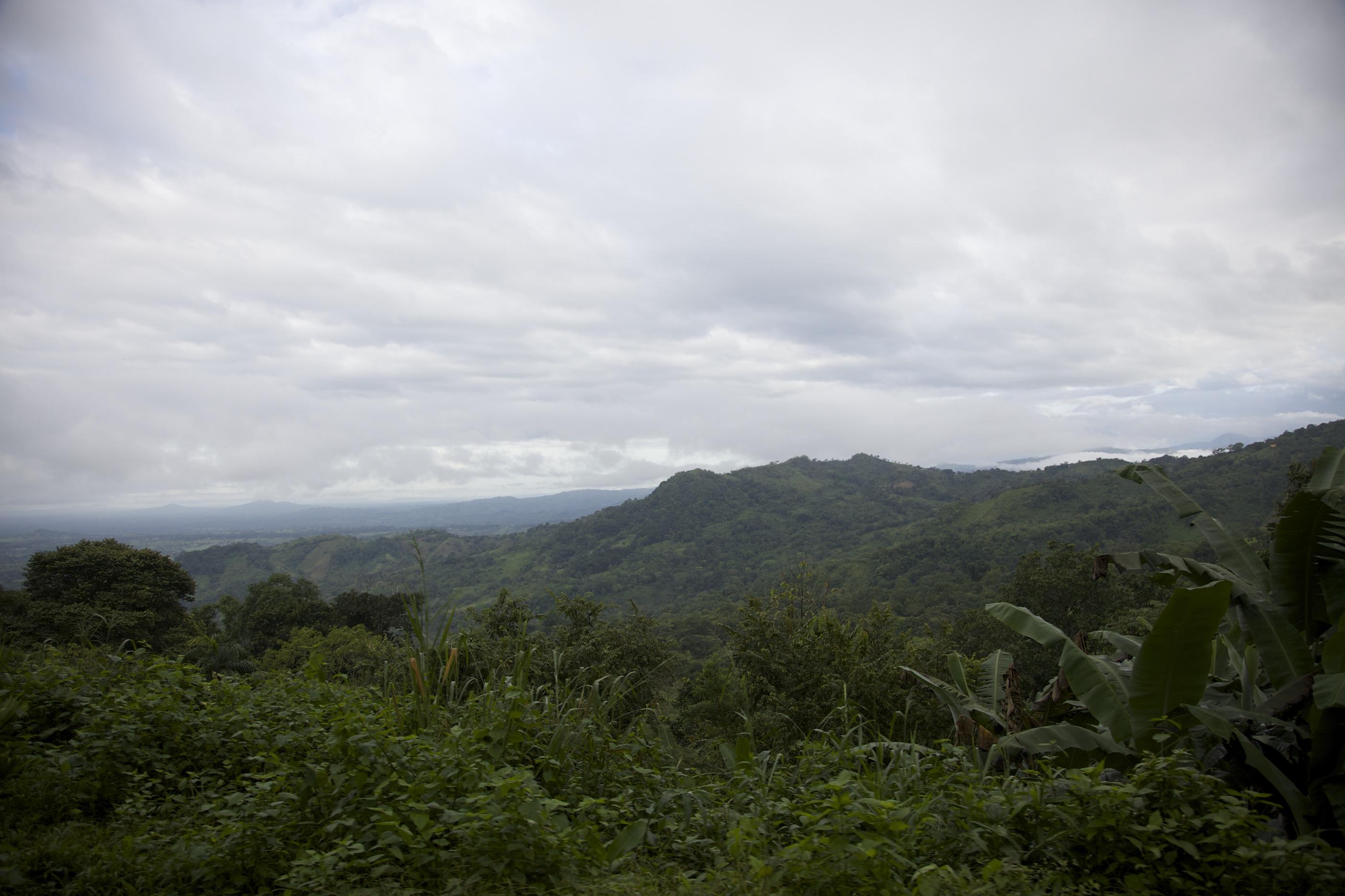 Фото Панамы - горный пейзаж
