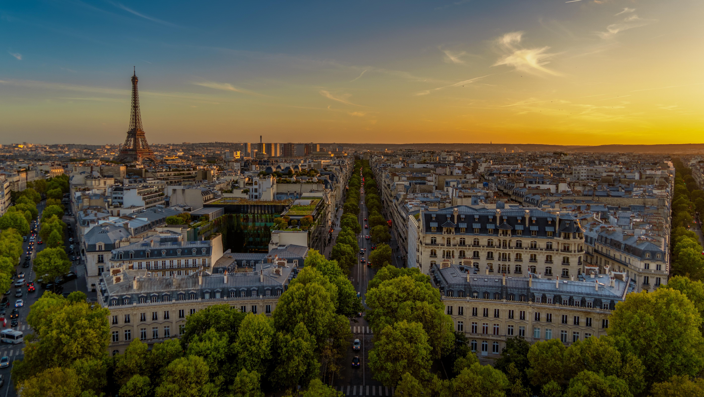 Фото центра Парижа