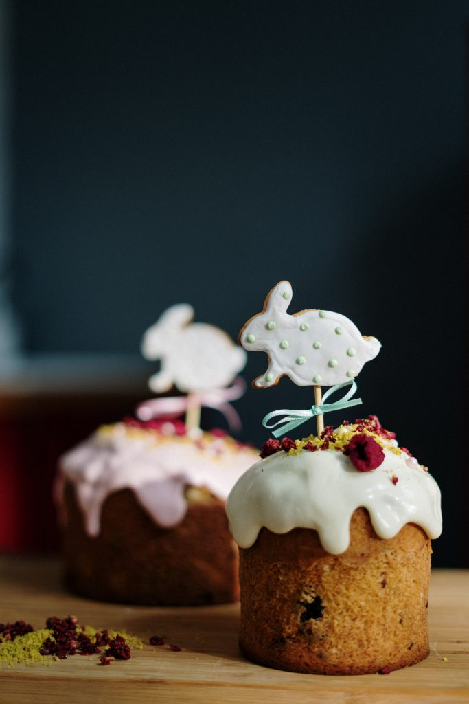 Пасха - пасхальный кекс пирог булка