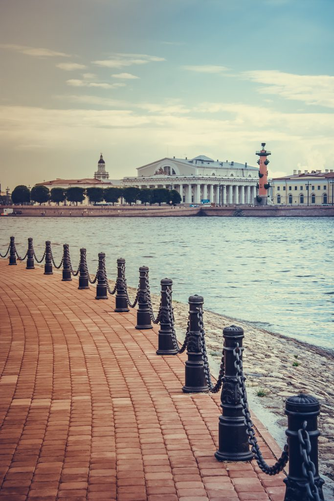 Фото набережной Санкт-Петербурга
