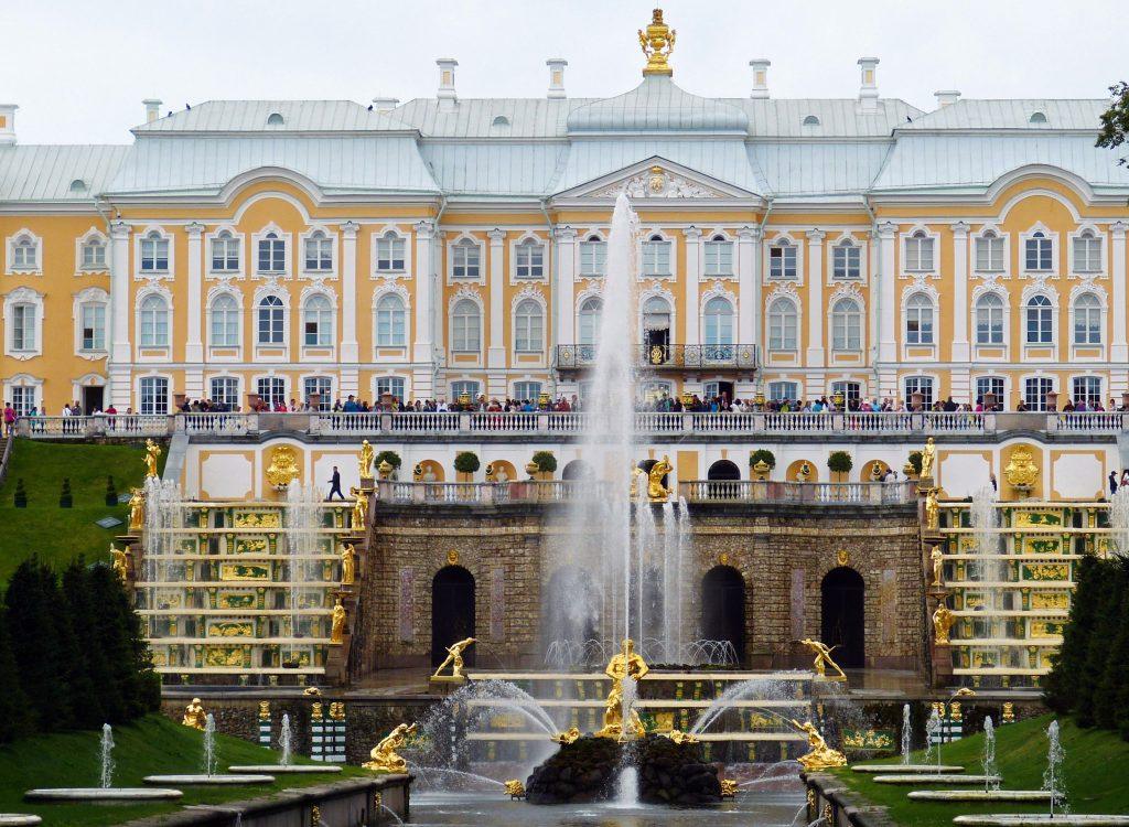 Петергоф большой дворец