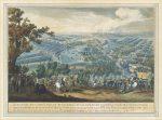 Гравюра русско-шведской войны - Полтавская битва
