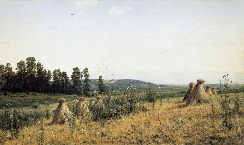 Иван Иванович Шишкин - картина Полесье, написана в 1884 году