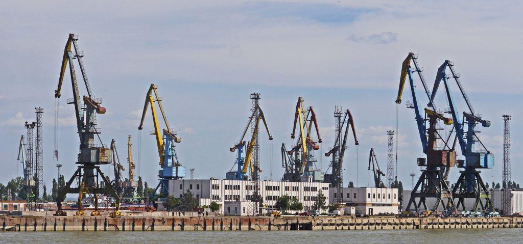 Фото порта Рени на Дунае