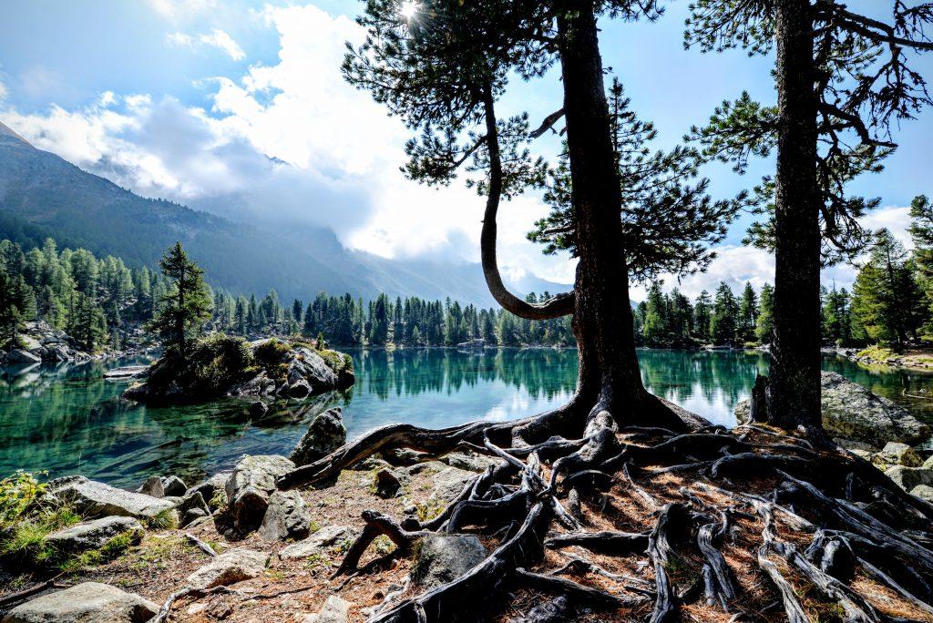 Озеро в Поскьяво, кантон Граубюнден