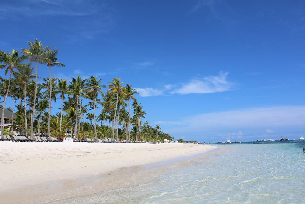 Пляж в Пунта-Кана, Доминиканская республика