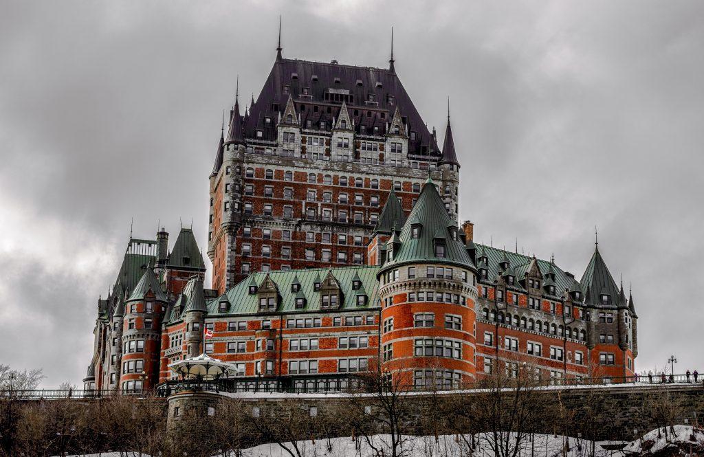 Квебек замок Шато-Фронтенак