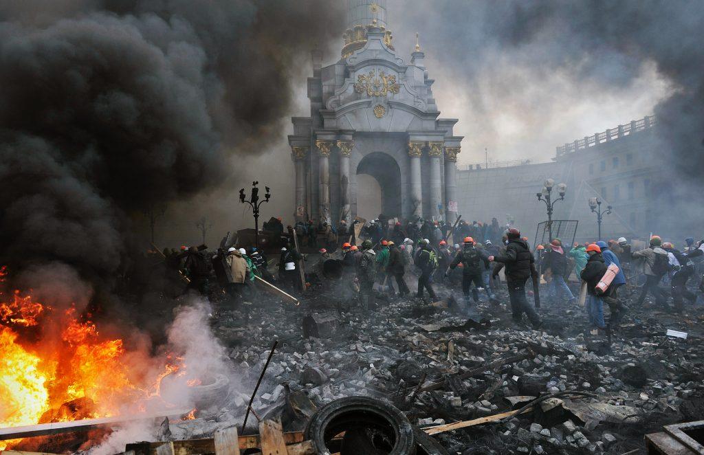 Евромайдан - революция в Киеве