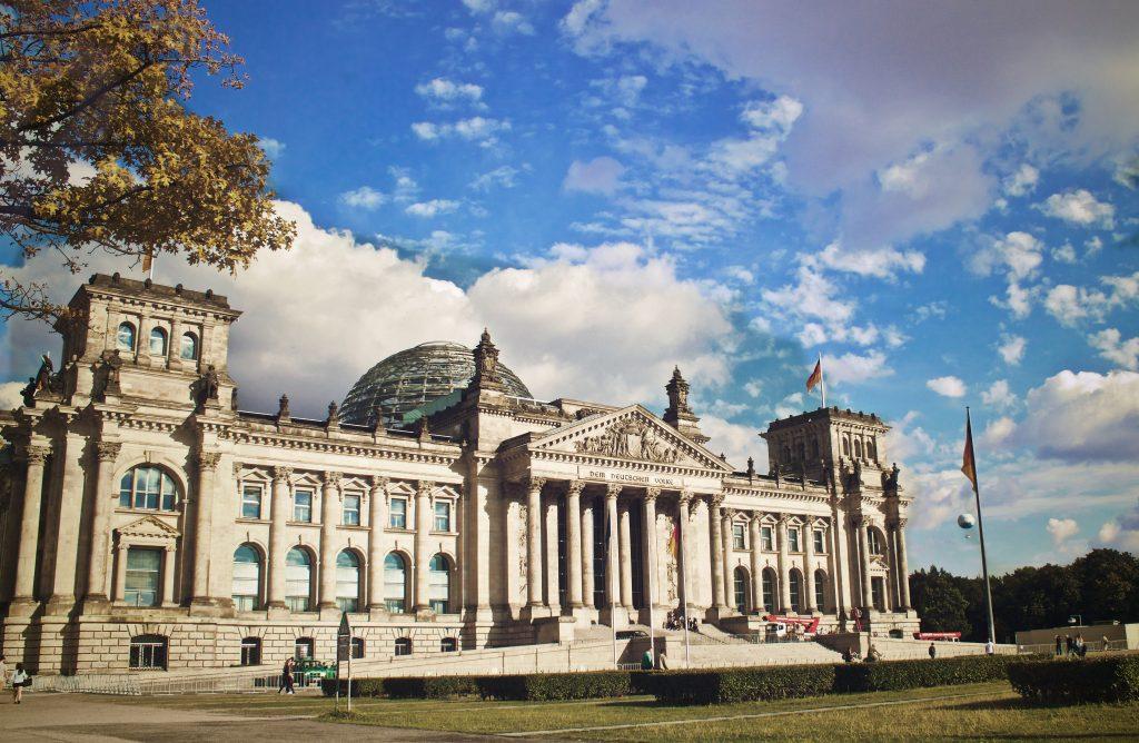 Фото Рейхстага в Берлине