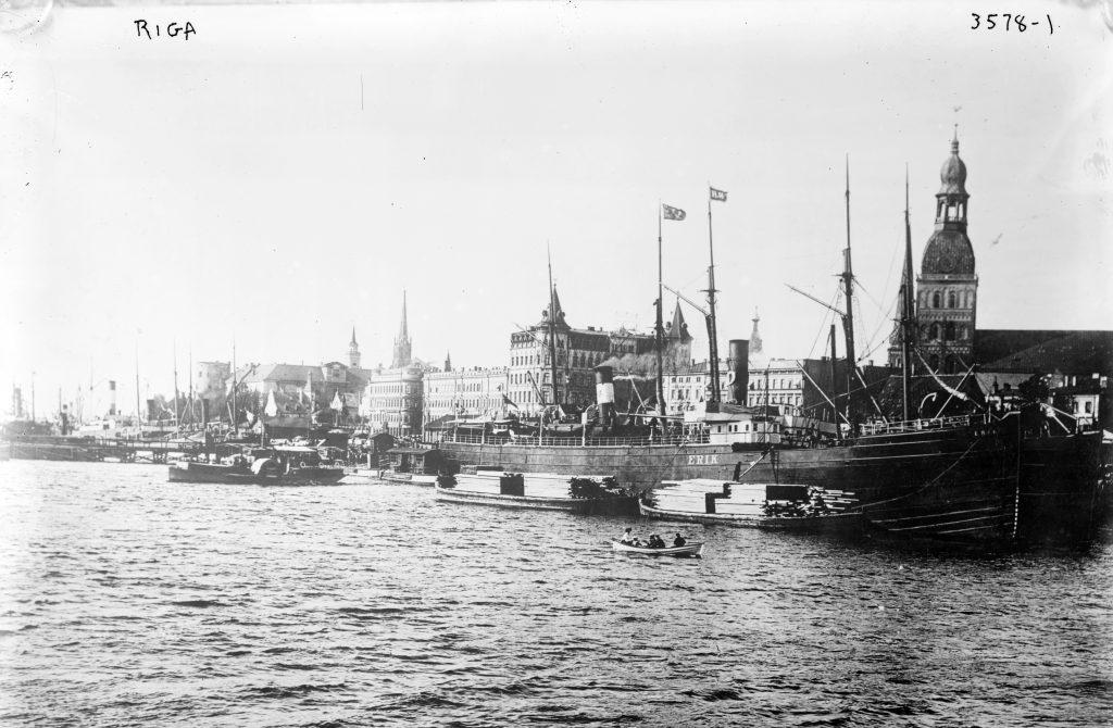 Старое фото Риги начала 20 века