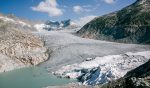 Ронский ледник стоковое фото