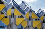 Дом куб - кубические дома в городе Роттердам, Нидерланды