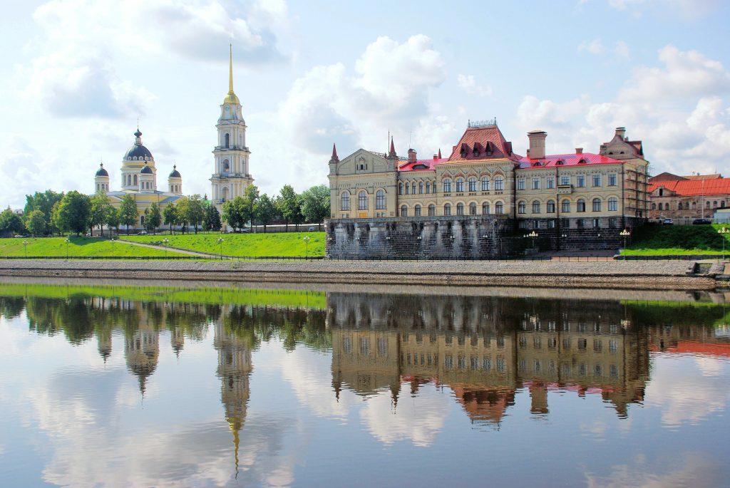 Город Рыбинск на Волге