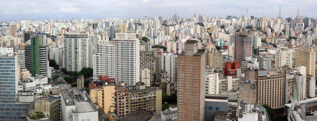 Панорама города Сан-Паулу, Бразилия