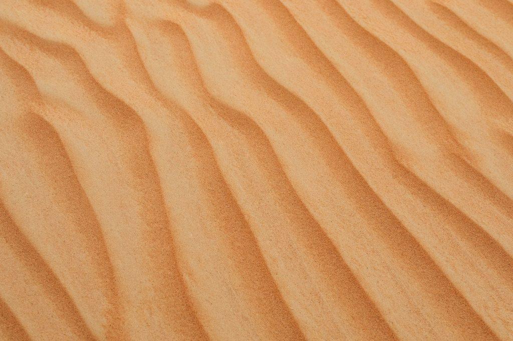 Текстура песка - песчаная дюна