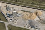 Фото стройки с воздуха