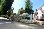 Тренировка военных - обыск и захват