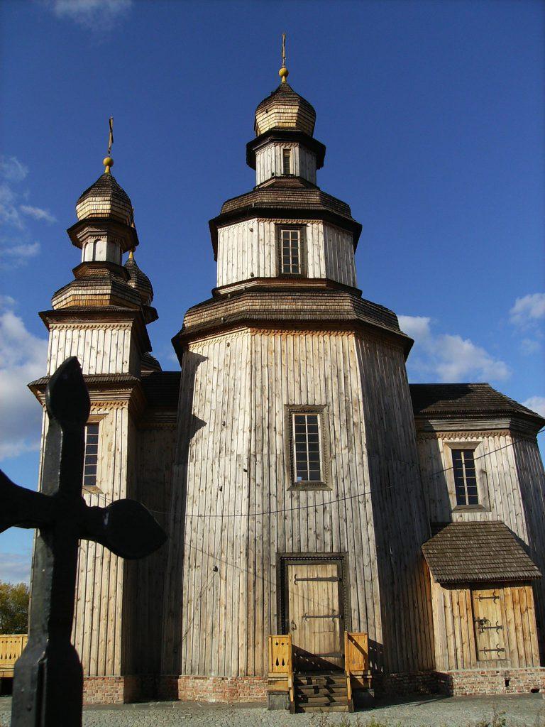 Деревянная церковь Николая в Седневе