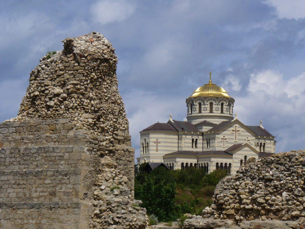 Фото Владимирского собора в Севастополе